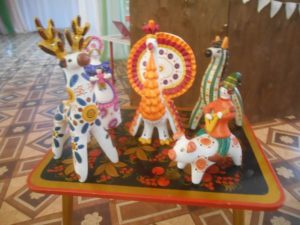Выставка дымковской игрушки
