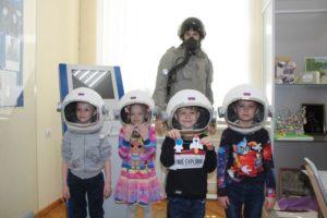 «День Космонавтики» в литературном музее.